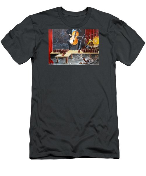 The Last Concert Listen With Music Of The Description Box Men's T-Shirt (Athletic Fit)