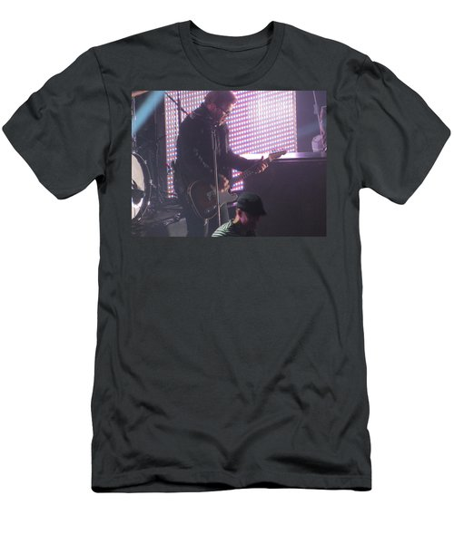 The Leadsinger Of Newsong Men's T-Shirt (Slim Fit) by Aaron Martens