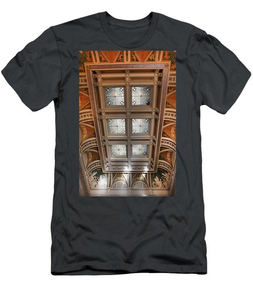Men's T-Shirt (Athletic Fit) featuring the photograph The Library Of Congress by KG Thienemann