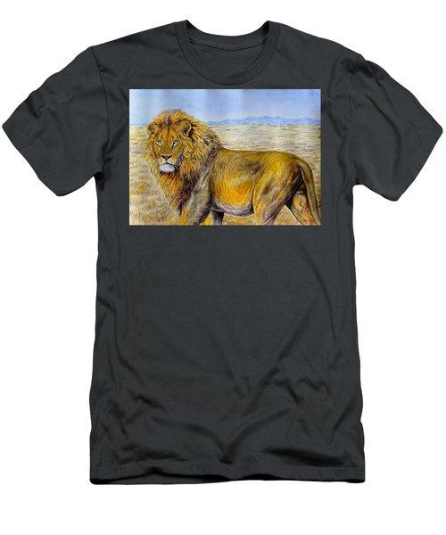 The Lion Rules Men's T-Shirt (Athletic Fit)