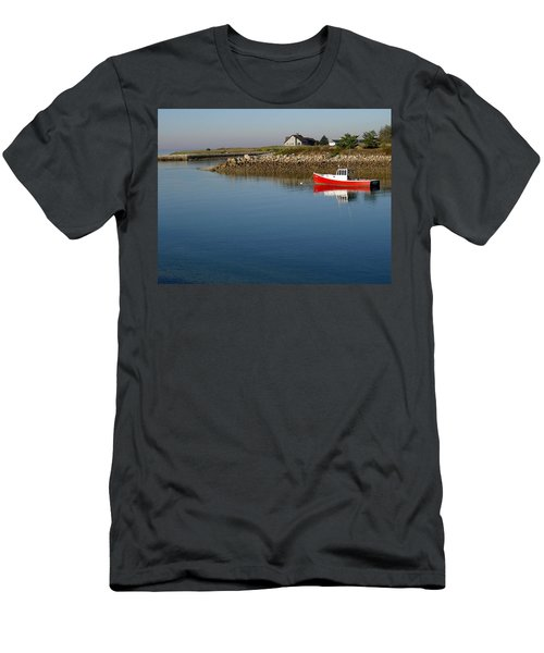 The Little Red Boat Men's T-Shirt (Athletic Fit)