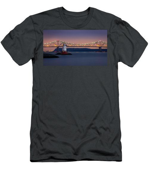 The Little White Lighthouse Men's T-Shirt (Athletic Fit)