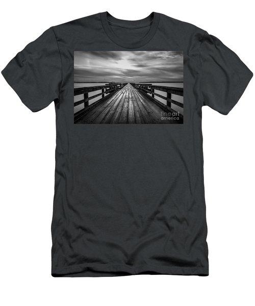 The Long Pier Men's T-Shirt (Athletic Fit)