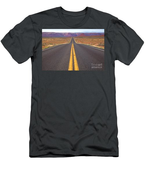 The Long Road Ahead Men's T-Shirt (Athletic Fit)