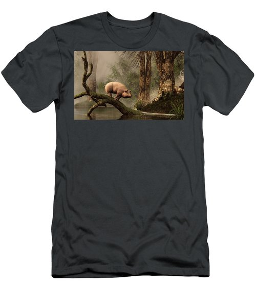 The Lost Pig Men's T-Shirt (Athletic Fit)