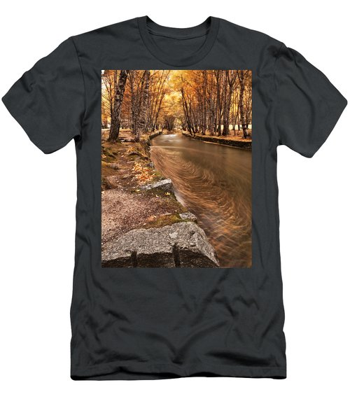 The Magic Of Fall Men's T-Shirt (Athletic Fit)
