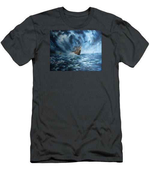 The Mary Rose And Fleet Men's T-Shirt (Slim Fit) by Jean Walker