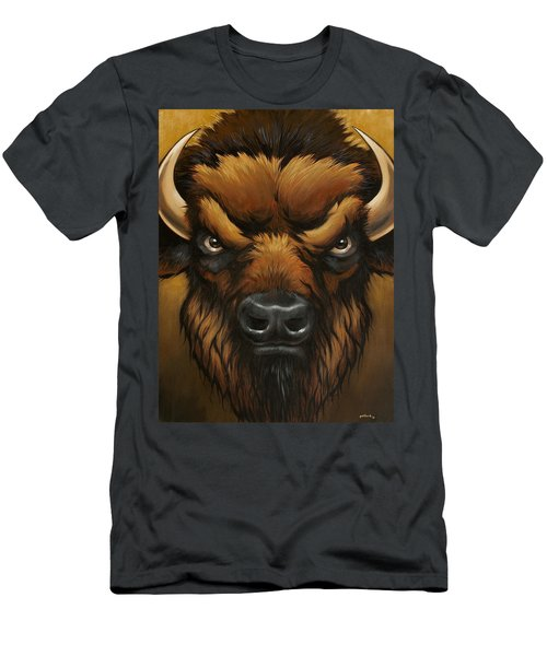 The Mighty Bison Men's T-Shirt (Athletic Fit)