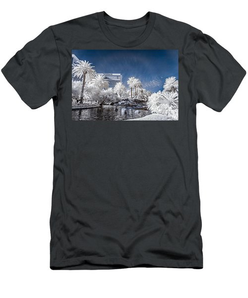 The Mirage In Infrared 1 Men's T-Shirt (Athletic Fit)