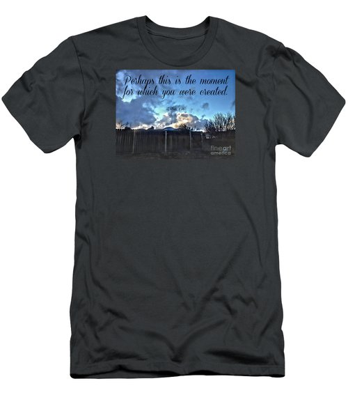 Men's T-Shirt (Athletic Fit) featuring the photograph The Moment by Beauty For God
