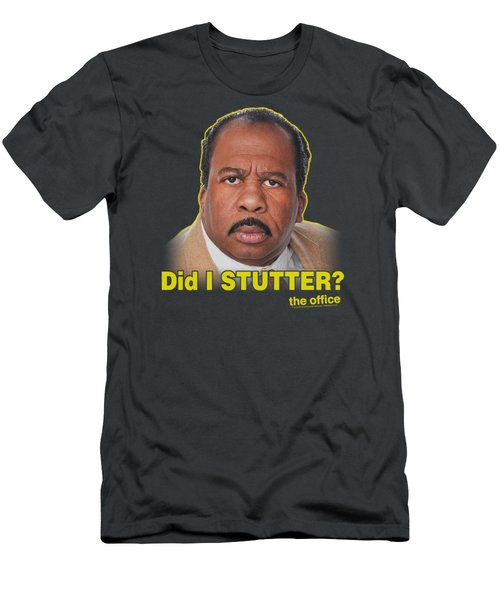 The Office - Did I Stutter Men's T-Shirt (Athletic Fit)