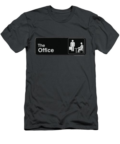 The Office - Sign Logo Men's T-Shirt (Athletic Fit)