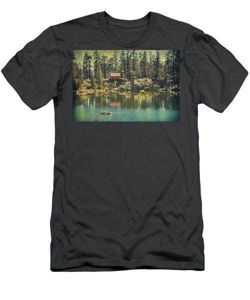 The Old Days By The Lake Men's T-Shirt (Athletic Fit)