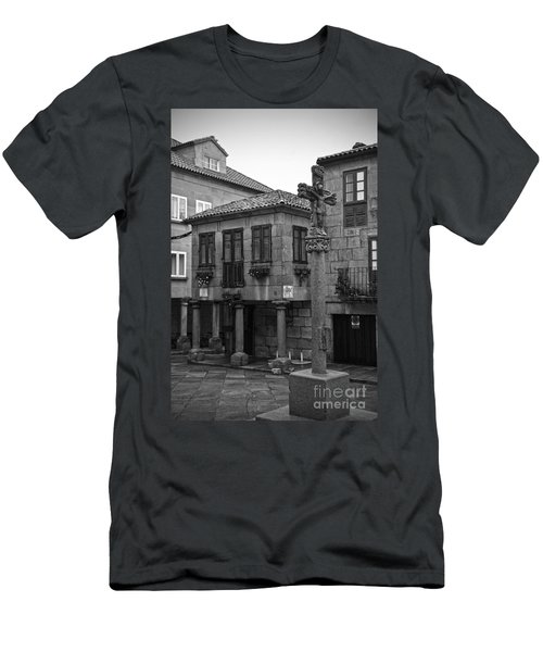 The Old Firewood Marketplace Bw Men's T-Shirt (Athletic Fit)