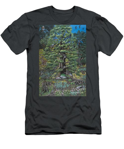 The Old Juniper Tree Men's T-Shirt (Athletic Fit)