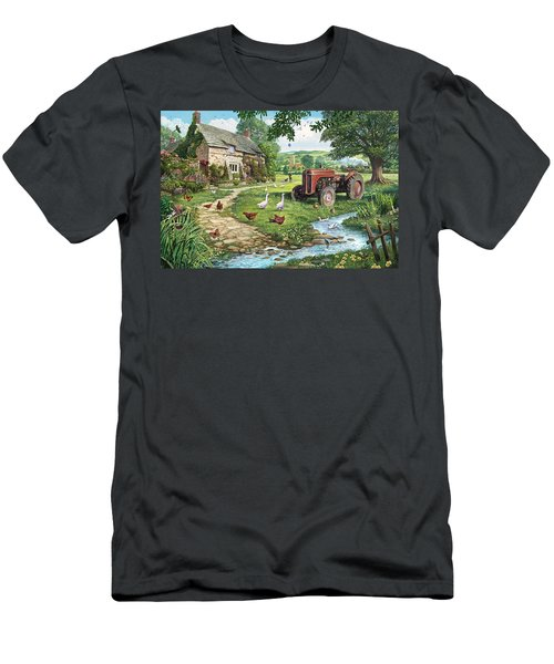 The Old Tractor Men's T-Shirt (Athletic Fit)