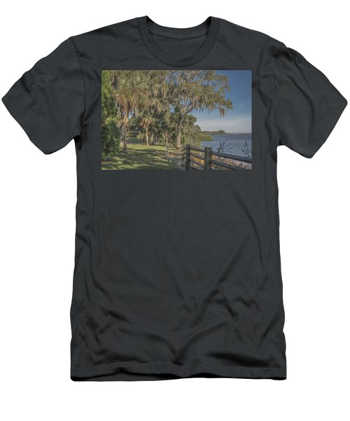 Men's T-Shirt (Slim Fit) featuring the photograph The Park by Jane Luxton