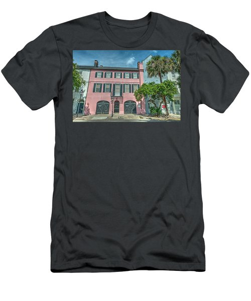 The Pink House Men's T-Shirt (Athletic Fit)
