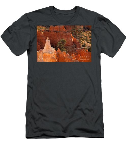 The Popesunrise Point Bryce Canyon National Park Men's T-Shirt (Athletic Fit)