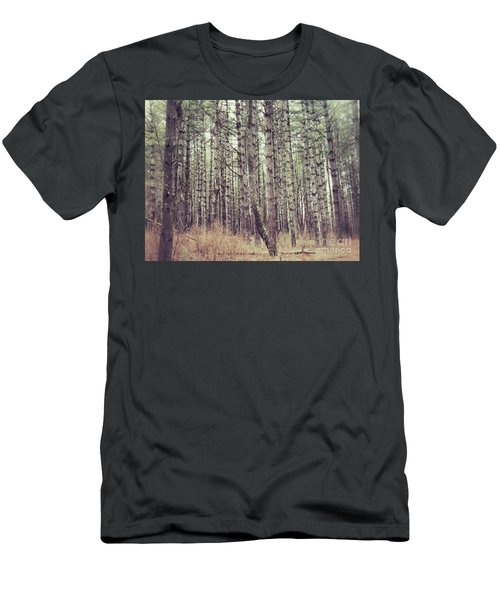 Men's T-Shirt (Slim Fit) featuring the photograph The Preaching Of The Pines by Kerri Farley