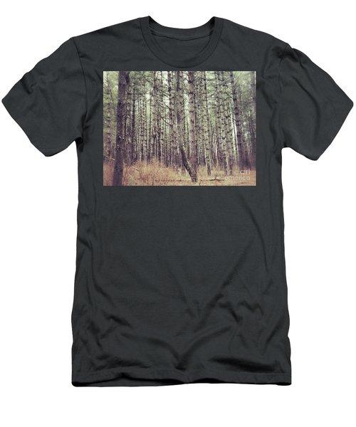 The Preaching Of The Pines Men's T-Shirt (Slim Fit) by Kerri Farley