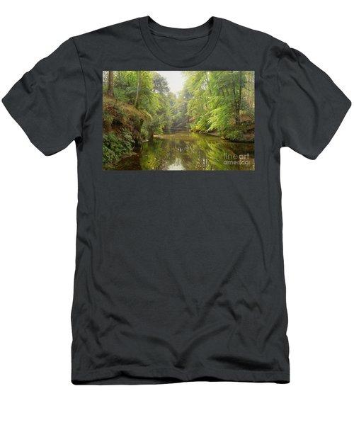 The Quiet River Men's T-Shirt (Athletic Fit)