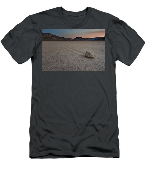 The Racetrack At Death Valley National Park Men's T-Shirt (Athletic Fit)