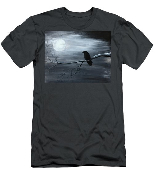 The Raven Piece 2 Of 2 Men's T-Shirt (Slim Fit) by Gray  Artus
