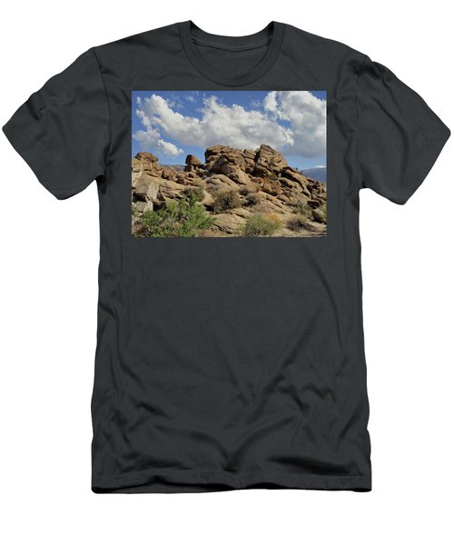 Men's T-Shirt (Slim Fit) featuring the photograph The Rock Garden by Michael Pickett