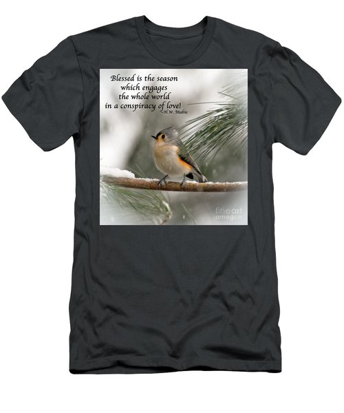 The Season Of Love  Men's T-Shirt (Athletic Fit)