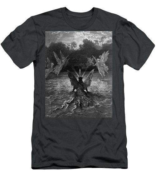 The Ship Continues To Sail Miraculously Moved By A Troupe Of Angelic Spirits Men's T-Shirt (Athletic Fit)