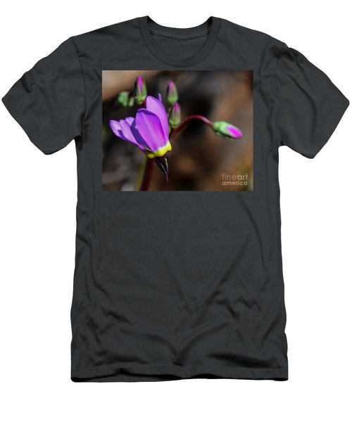 The Shooting Star Wildflower Men's T-Shirt (Athletic Fit)