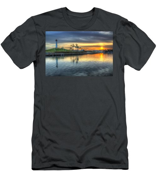 The Sinking Sun Men's T-Shirt (Athletic Fit)