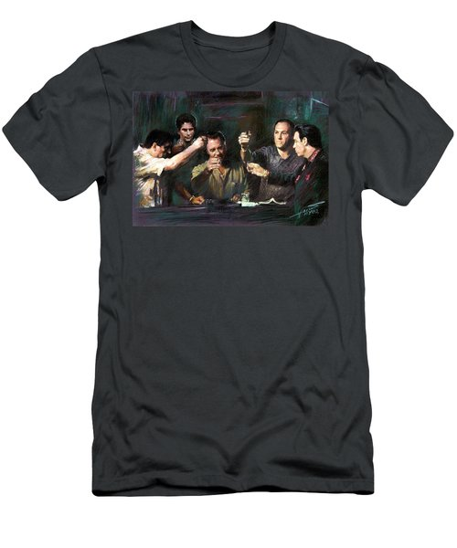 The Sopranos Men's T-Shirt (Athletic Fit)