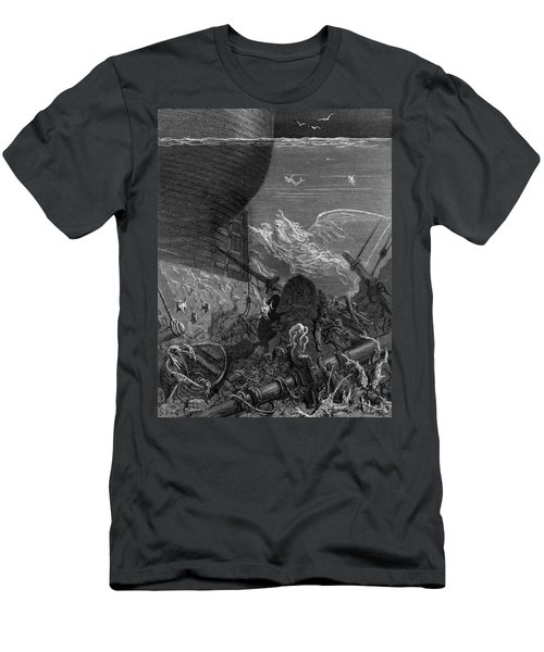 The Spirit That Had Followed The Ship From The Antartic Men's T-Shirt (Athletic Fit)