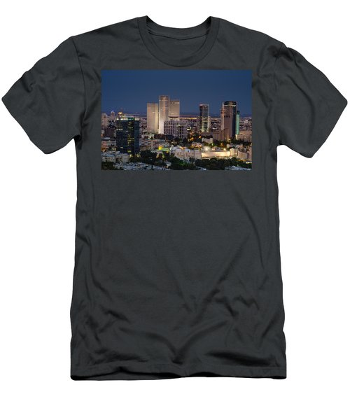 Men's T-Shirt (Athletic Fit) featuring the photograph The State Of Now by Ron Shoshani