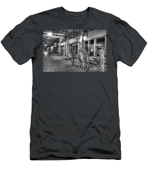 The Stockyards Wagon Men's T-Shirt (Athletic Fit)