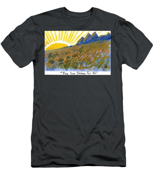 The Sun Shines For All Men's T-Shirt (Athletic Fit)
