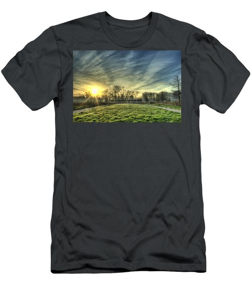 The Sun Shines Through Men's T-Shirt (Athletic Fit)