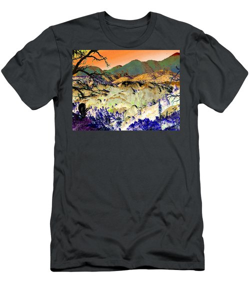 The Surreal Desert Men's T-Shirt (Athletic Fit)