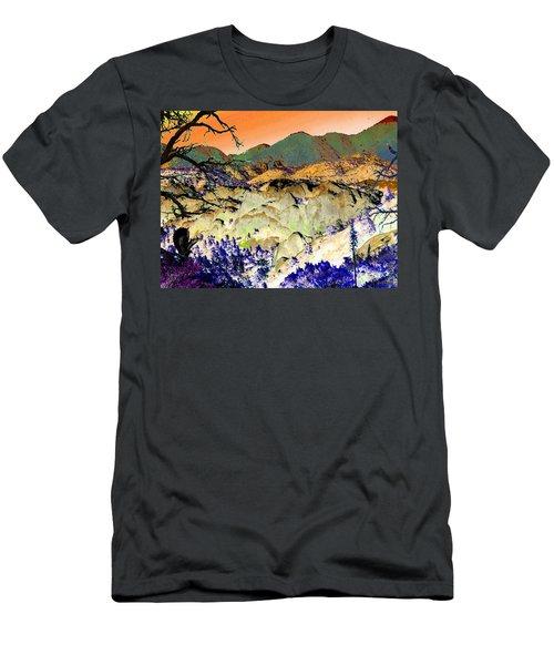 The Surreal Desert Men's T-Shirt (Athletic Fit)