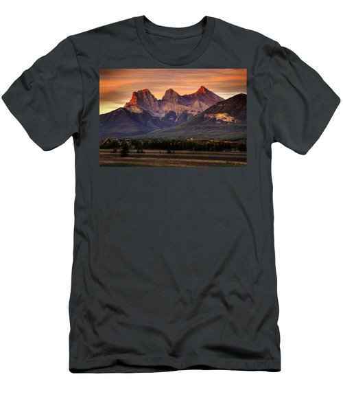 The Three Sisters Canmore Men's T-Shirt (Athletic Fit)