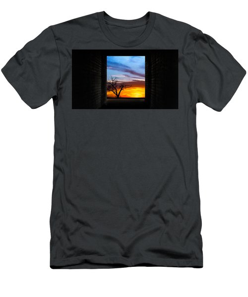 The Tunnel   Sunset1 Men's T-Shirt (Athletic Fit)