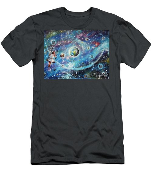 The Universe Is My Playground Men's T-Shirt (Athletic Fit)