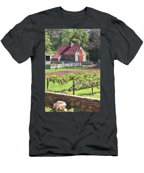 The Vineyard Barn Men's T-Shirt (Athletic Fit)