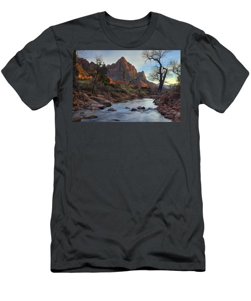 The Watchman In Winter-2 Men's T-Shirt (Athletic Fit)