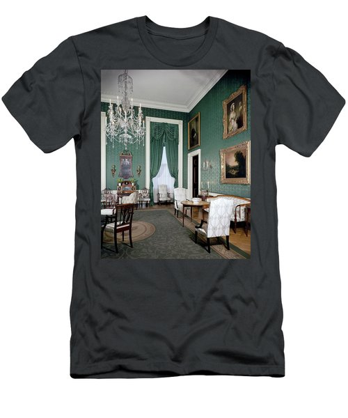The White House Green Room Men's T-Shirt (Athletic Fit)