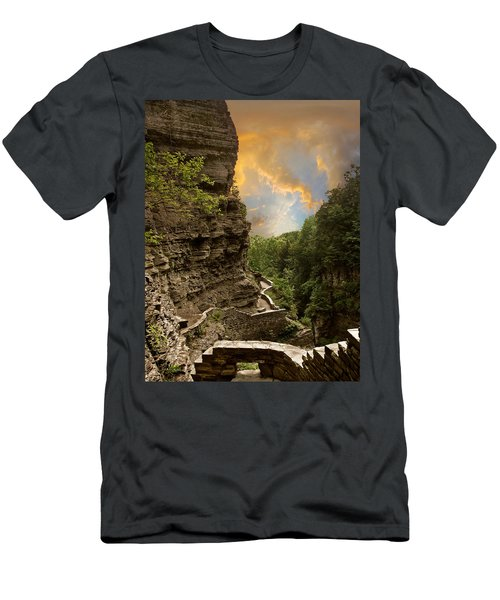 The Winding Trail Men's T-Shirt (Athletic Fit)