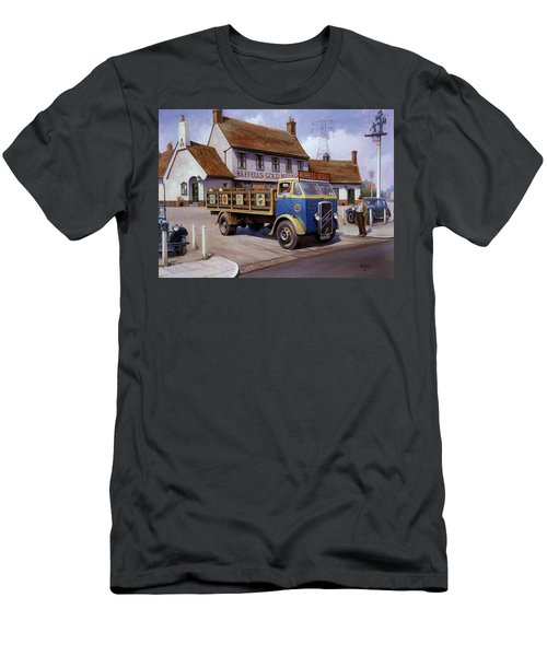 The Woodman Pub. Men's T-Shirt (Athletic Fit)