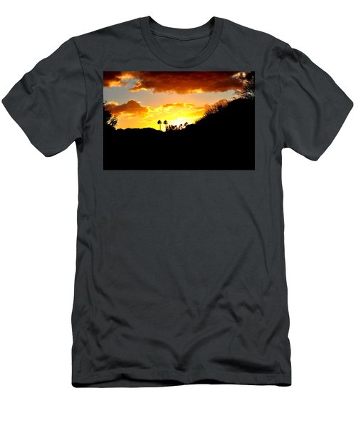 There's Gold In Them Thar Hills Men's T-Shirt (Slim Fit) by Jay Milo